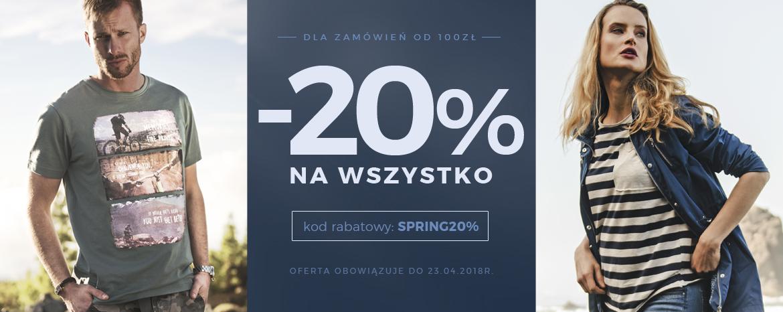 -20% wiosenna promocja