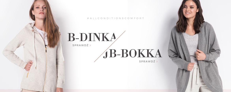 Bluzy B-DINKA i JB-BOKKA