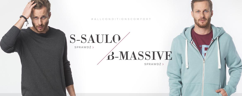 Bluzy S-SAULO i B-MASSIVE