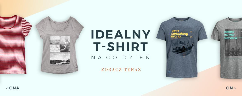 t-shirt na co dzień